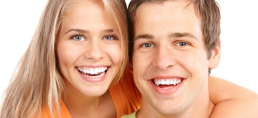 Bleke tennene hjemme