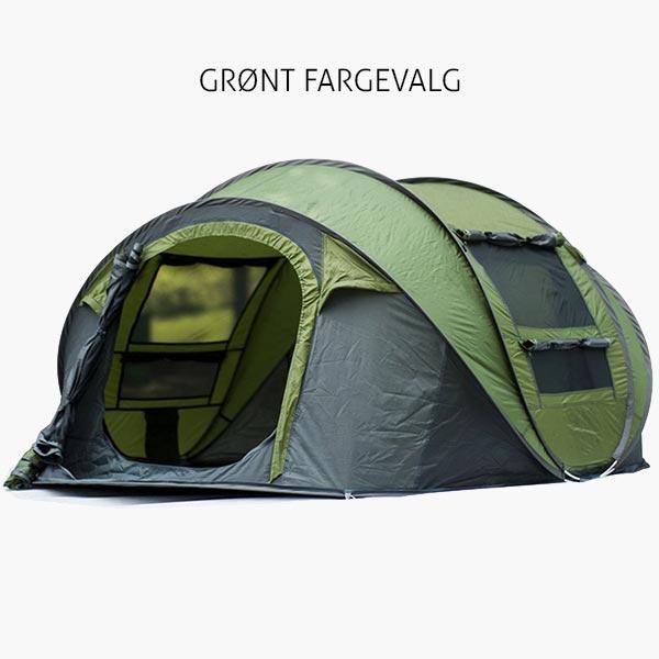 grønt pop up telt