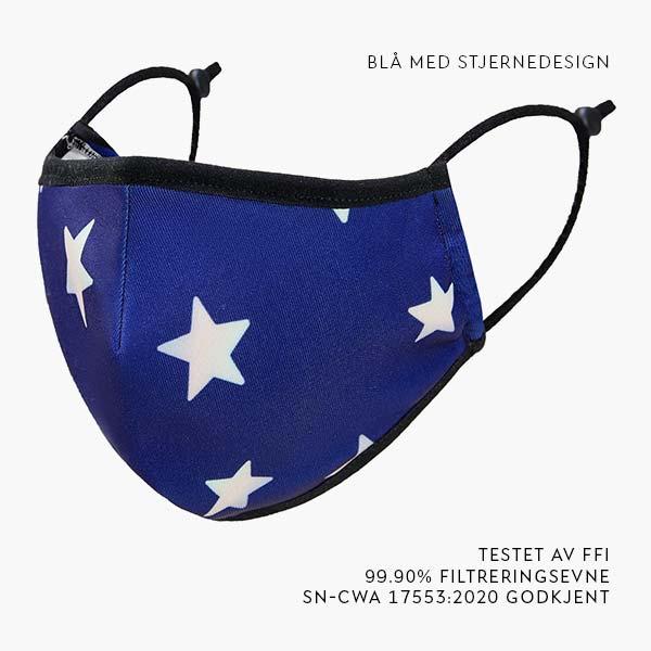 blå-design-stjernerr