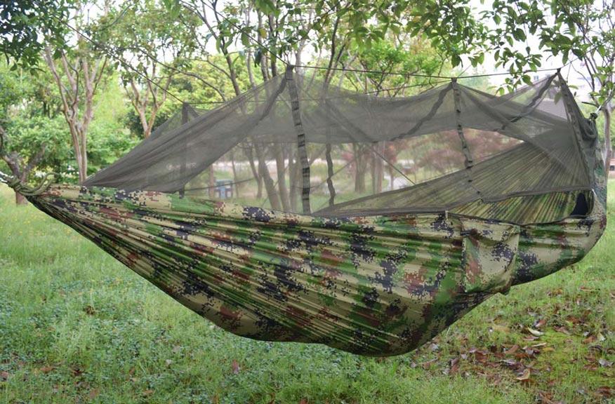 Army Hengekøye med myggnetting
