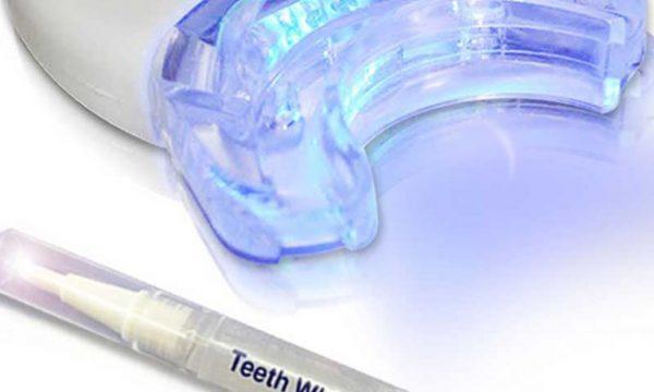 Tannbleking med LED-lys15. juni 2021