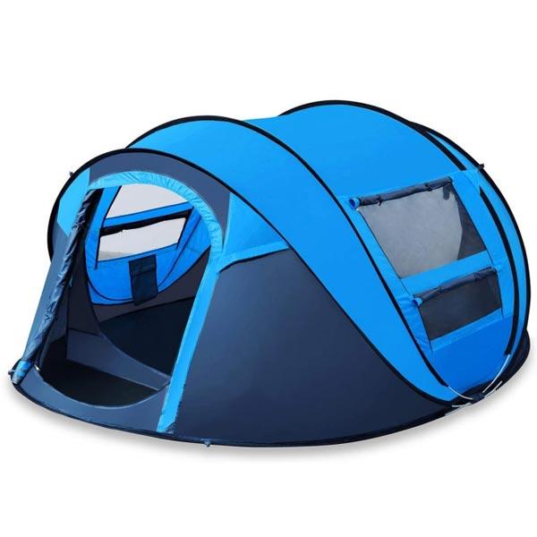 Pop-up telt blå farge16. juni 2021