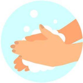 Vask hendene14. juni 2021