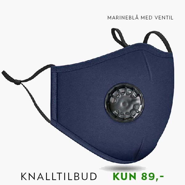marineblå ventil