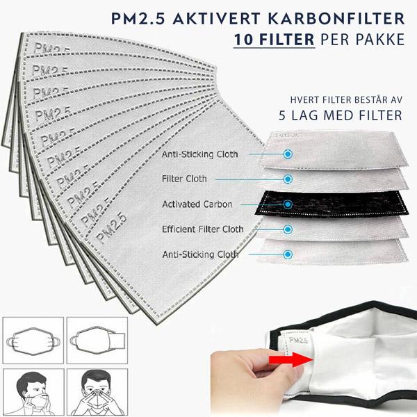pm2.5 filter munnbind